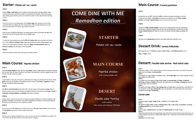 Come Dine With Me Ramadhan Edition1